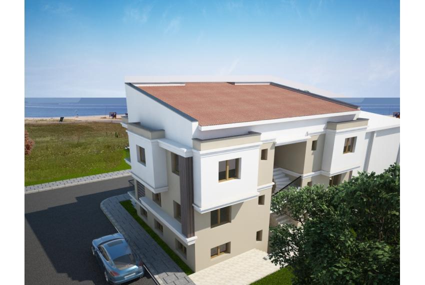 Апартаменти с гледка към морето на първа линия Халкидики